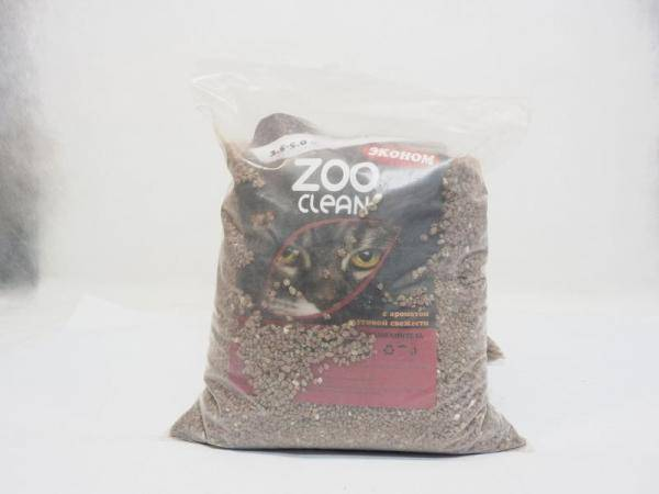 Наполнитель для кошачьих туалетов Зооклин