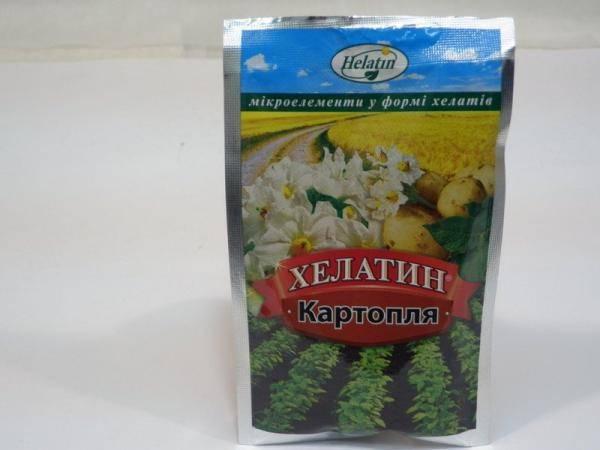 Хелатин - удобрение для картофеля