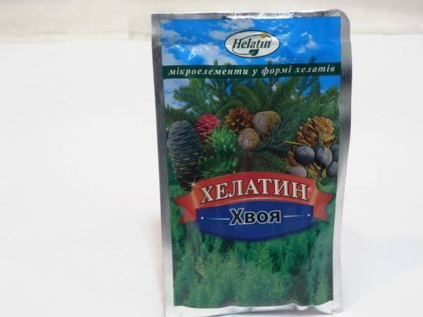 Хелатин - хвоя