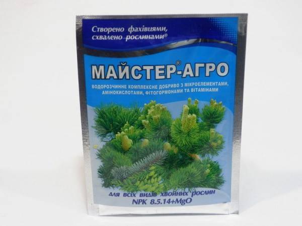 Мастер - Агро, удобрение для всех видов хвойных растений