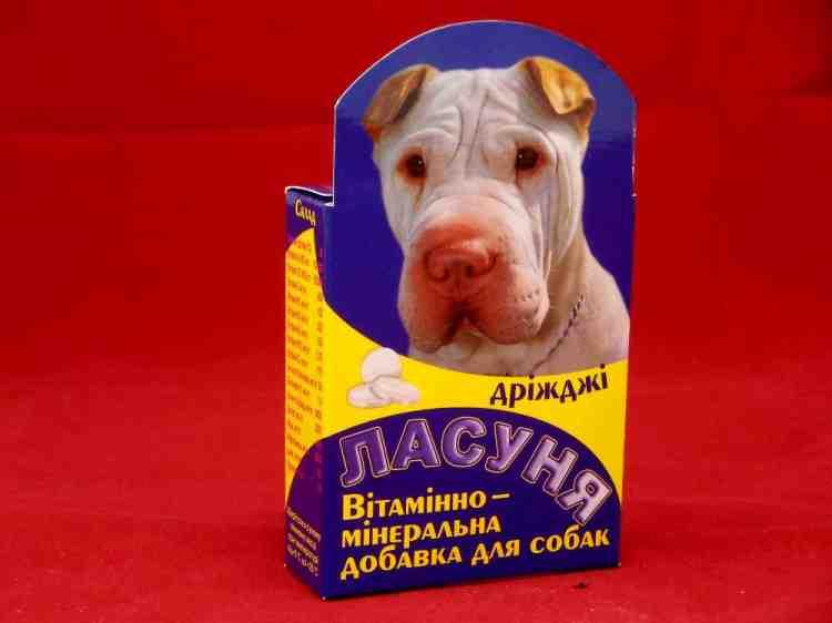 Ласуня, витаминно - минеральная добавка беби для щенков