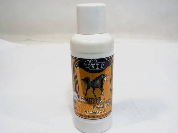 Шампунь-бальзам от перхоти с глицерином и серой для лошадей