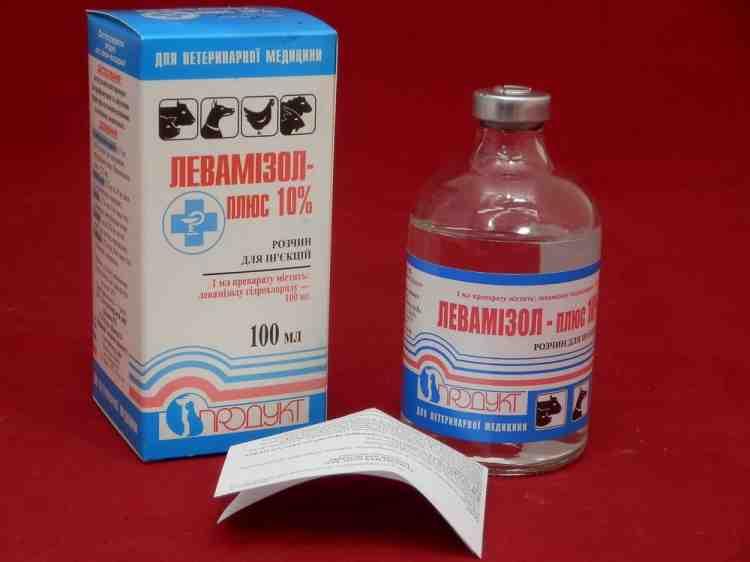 Левамизол плюс , антигельминтик для инъекций