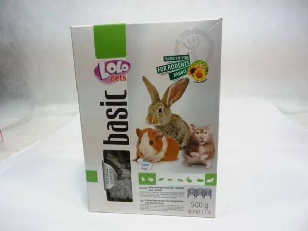 Корм для кроликов и других грызунов Лоло Петс Lolo Pets