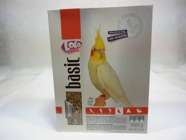 Корм для средних попугаев, корелл, нимф Лоло Петс Lolo Pets