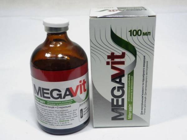 Мегавит, витаминный и аминокислотный препарат для инъекций