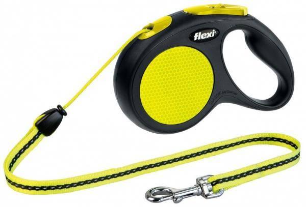 Флекси Классик (Flexi New Classic), троссовый поводок для собак до 12 кг - 5 м