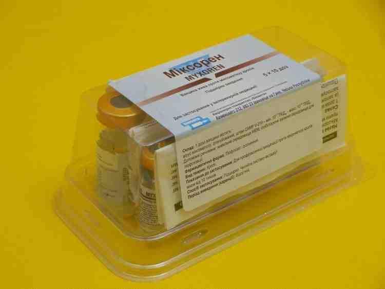 Миксорен вакцина против миксоматоза кроликов
