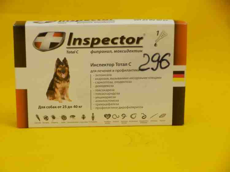 Инспектор Тотал С  для собак