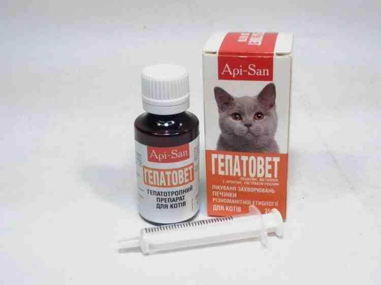 Гепатовет для кошек