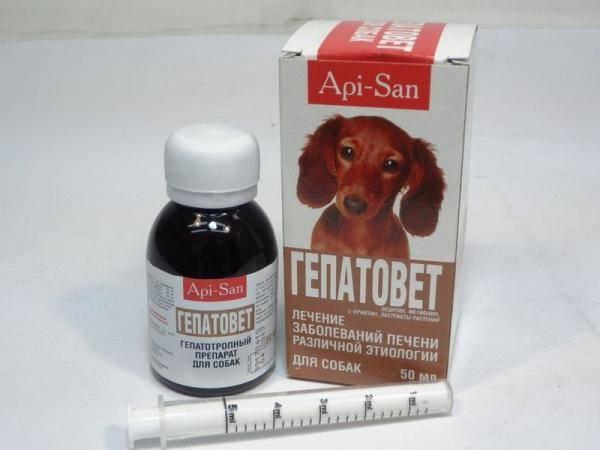 Гепатовет -средство для лечения печени для собак 50 мл