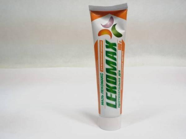 Мазь Лекомакс, противовоспалительное средство
