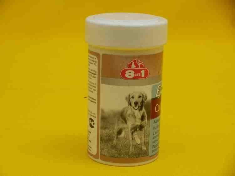 8in1 Excel Calcium Эксель Кальций кальциевая добавка для щенков и собак