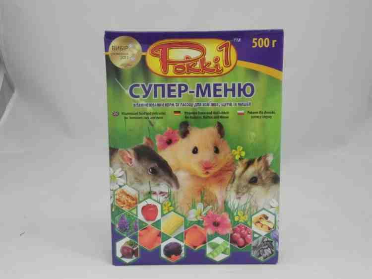 витаминизированный корм для мелких грызунов