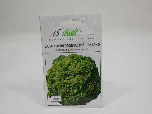 Семена салата полуголовчатого Локарно