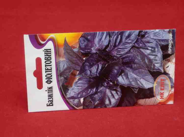 Семена базилика фиолетового