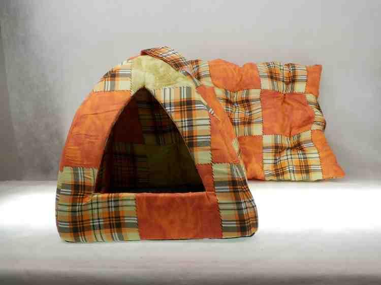 Мягкие домики для собак и кошек Иглу класс