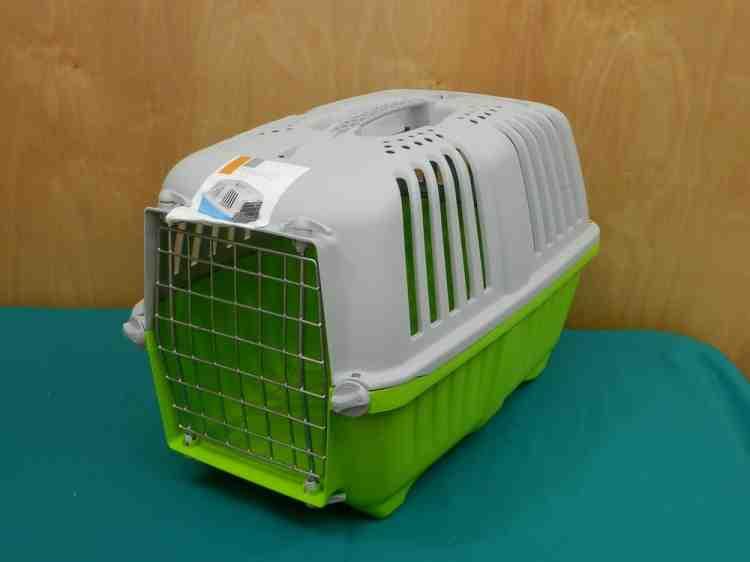 Переноска Pratiko Пратико для кошек и собак пластиковая контейнерная