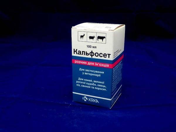 Кальфосет, препарат для регулирования кальция, фосфора, магния