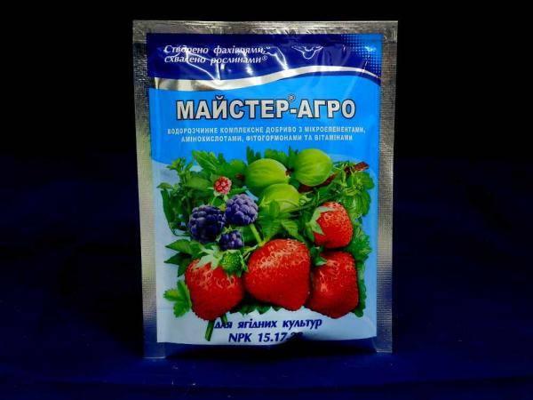 Мастер-Агро удобрение для ягодных культур