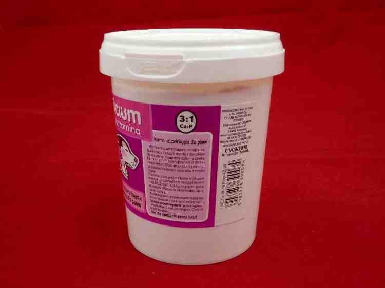 Канвит, Calcium z glukozamina 3:1, для взрослых собак и щенков