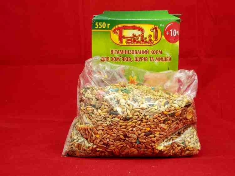 Рокки-1, корм для хомяков, крыс, мышей