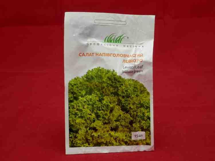Семена салата полуголовчатого Левистро