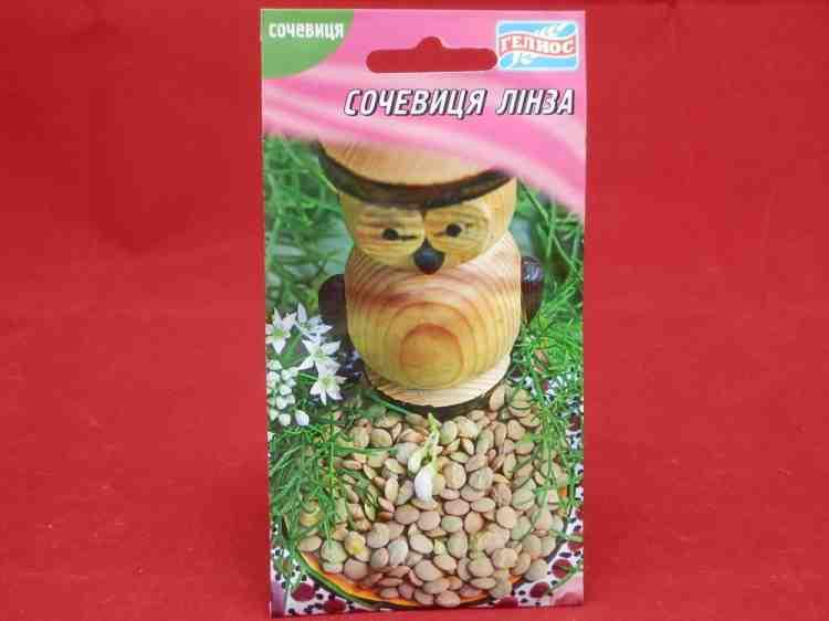 Семена чечевицы Линза