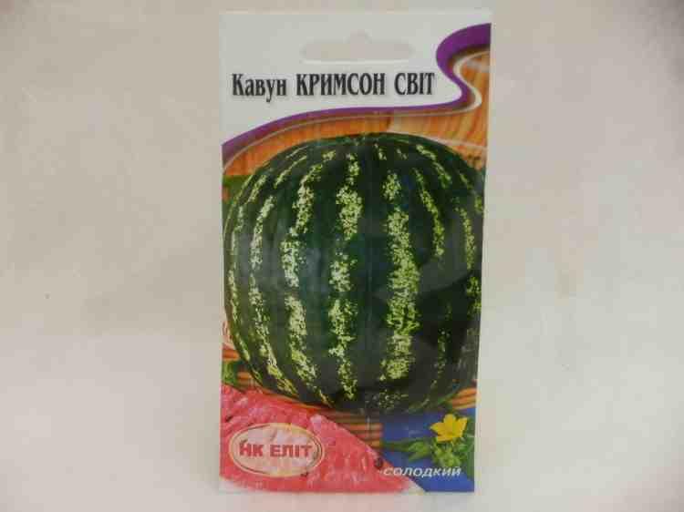 Семена арбуза Крымсон свит