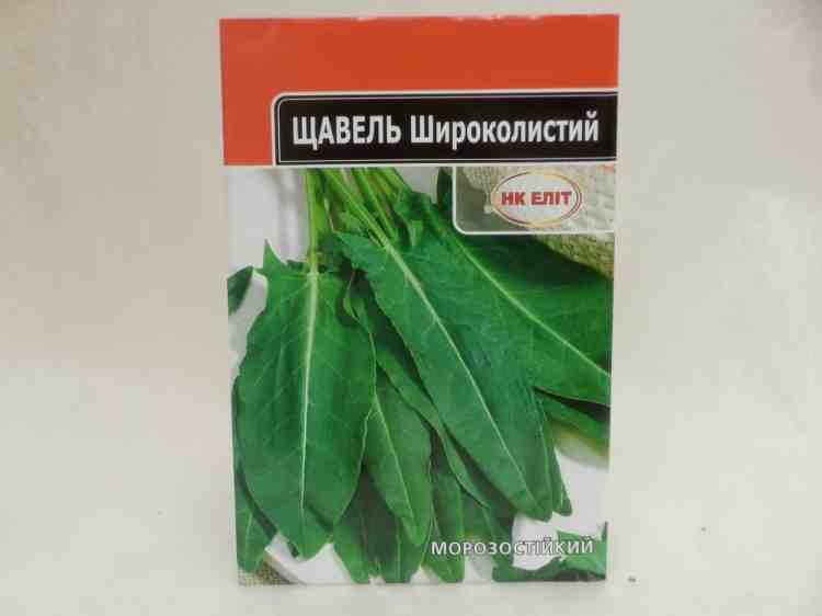 Семена щавля широколистного морозоустойчивого