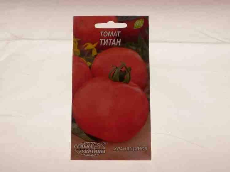 Семена томатов Титан