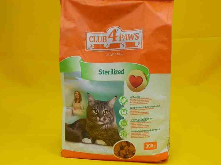 Club 4 Paws (Клуб 4 лапы) Sterilized, сухой корм для стерилизованных кошек