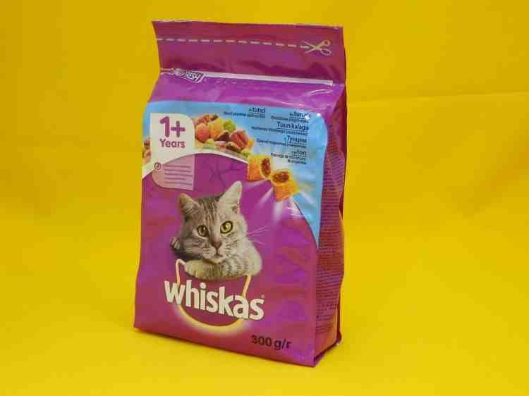 Whiskas с морепродуктами