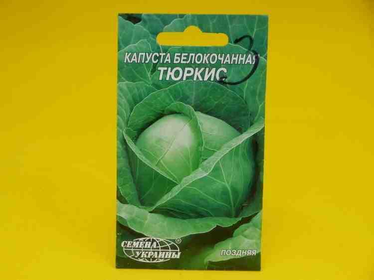 Семена капусты белокачанной  Тюркис