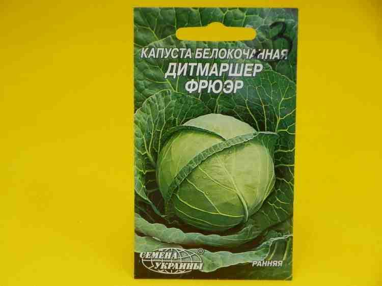 Семена капусты Белокачанной Дитмаршер Фрюэр