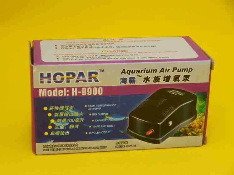Компрессор аквариумный Hopar H-9900, одноканальный