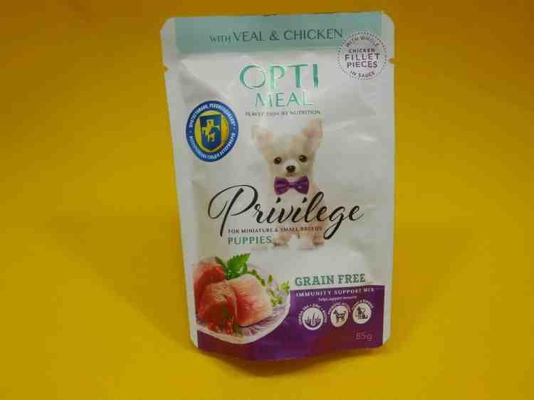 Optimeal (Оптимил) влажный корм для собак