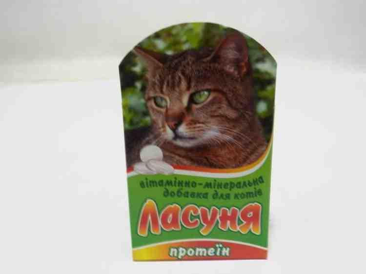 Витаминно-минеральная добавка для кошек и котят Ласуня