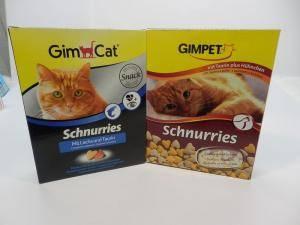 Schnurries Gimpet - витаминная добавка для кошек с таурином и мясом