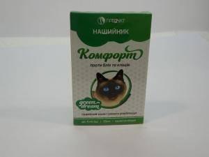 Комфорт - антипаразитарный ошейник для кошек