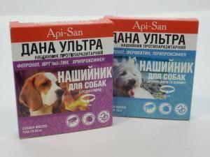 Дана - ультра, антипаразитарный ошейник для собак