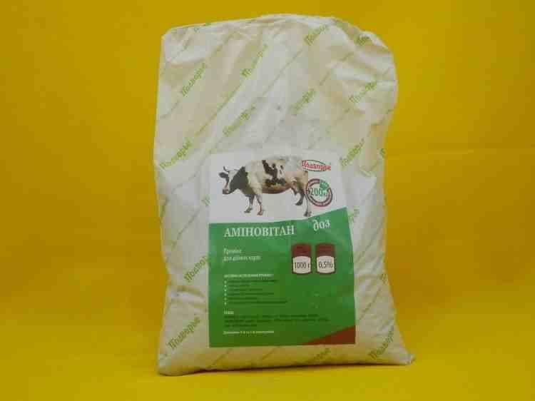 Аминовитан -- ДОЗ премикс для дойных коров
