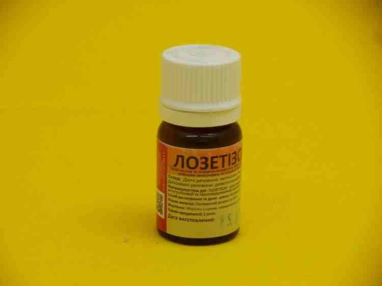 Лозетизон, противовирусный препарат