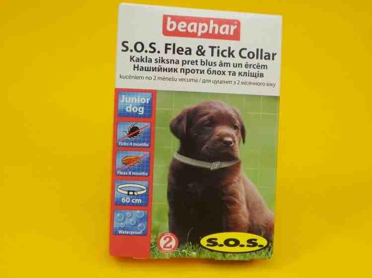 S.O.S. Flea & Tick Collar Ошейник S.O.S. от блох и клещей для собак
