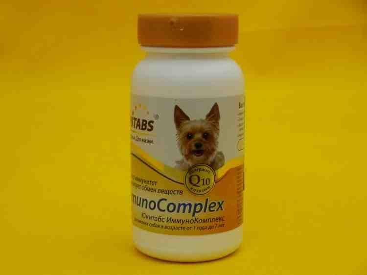 Юнитабс, витаминный комплекс для собак