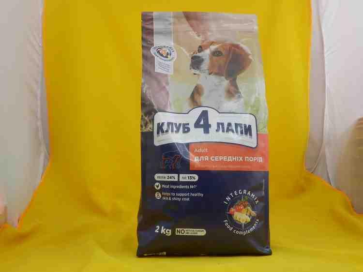 Клуб 4 лапы премиум, сухой корм для собак