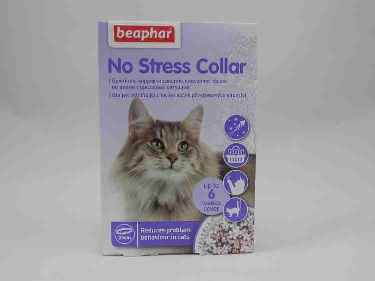 Успокаивающий ошейник для кошек No Stress Collar, 35 см