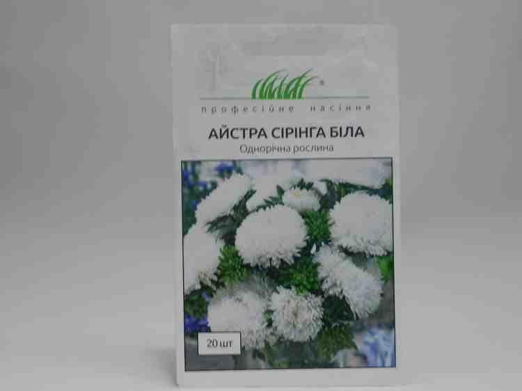 Семена астры Сиринга белая