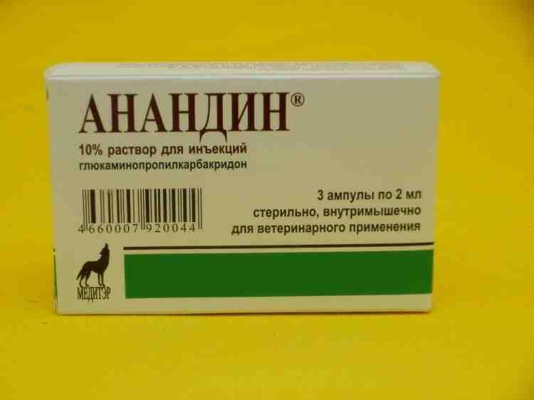 Анандин противовирусный препарат