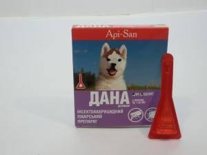 Дана - антипаразитарный препарат для щенков